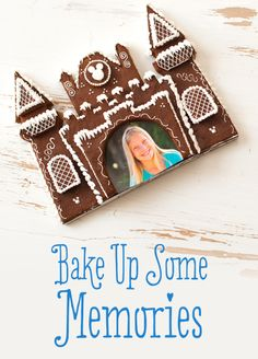 Bake Up Some Memories with this Gingerbread Picture Frame! #myDisneySweets #Gingerbread #Christmas