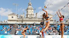 Beach Volleyball to take centre stage at London 2012 -www.london2012.com #volleyball #olympics #london2012