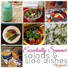 Essential Summer Salad and Side Dish recipes!