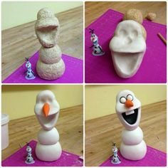 Olaf process..idea could be used for polymer clay too!