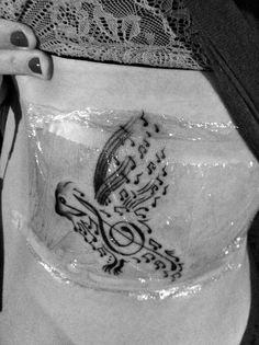 Songbird tattoo!