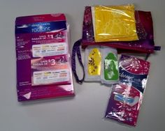Sandra's Samples- Free Tampax Carrying Case Sample