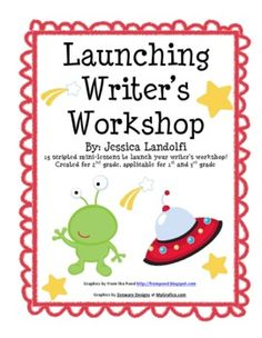 This September Writer's Workshop unit is comprised of 16 detailed and scripted mini-lessons which can be used to launch writer's workshop. The less...