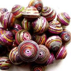 Another how to make paper beads!