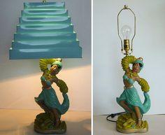Beautiful 1950's Universal Statuary lamp