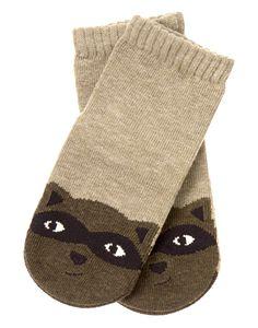 Raccoon Socks at Gymboree