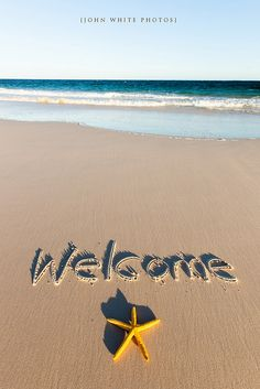 Welcome by john white photos, via Flickr