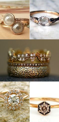 Gold rings! That one on the bottom left! Ahh <3