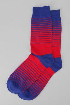 Wave Stripe Sock, sock game proper.