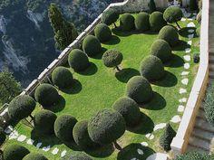 Les jardins du chateau gourdon.