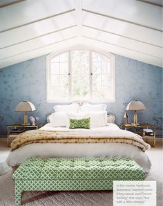 Home of Ruthie Sommers via Lonny Magazine. Gorgeous!