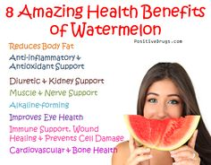 8 Amazing Health Benefits of Watermelon - positiveDrugs