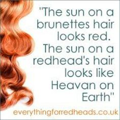 Proud to be a natural redhead! <3