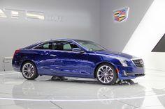 Cadillac ATS Coupe 2015 Car NAIAS