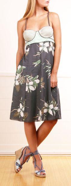 Pretty Floral Print Dress.