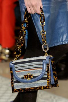 Tory Burch Fall 2012. A favorite — needlepoint details.