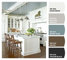 Sherwin Williams' Moody Blue on the ceiling (Let's Chip It, Sherwin Williams) by kristie