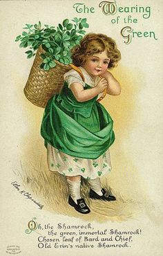 Vintage St. Patricks Day post card