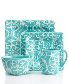 blue dishes by mayraella