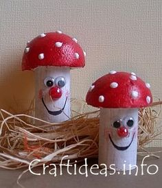 Fun Cork Mushrooms