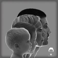 Another interesting take on the family portrait. I would love to see how my dad, mom and me and my three sisters would have looked all lined up there!  It would've been one ugly ass family picture with our big noses and double and triple chins!!! Lol!!!   Excellent idea for the beautiful people.
