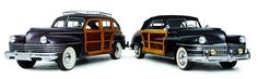 1942 Chrysler Town & Country 'Barrel Back' Station Wagon & 1948 Chrysler Town & Country Convertible