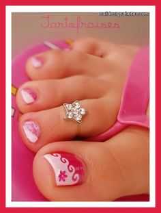 toe nail designs for wedding | simple toe nail art for weddings pictures photos video pictures 12