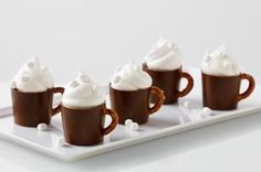Reduced-Sugar Hot Cocoa Pudding Mugs recipe
