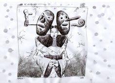 Cover de la tapa de Homogenic de Bjork que hice mientras estábamos en el programa de Radio con Lisandro Aristimuño