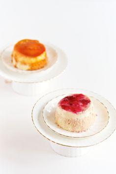 Rose or Caramel Pudding Cake