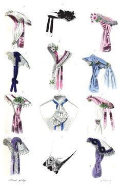 Late Victorian Era Clothing: Late Victorian Era Fashion Plate - March 1867 The World of Fashion