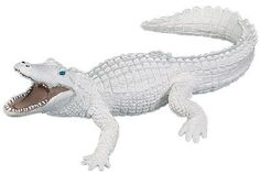 Wild Safari White Alligator at theBIGzoo.com, a toy store that has shipped over 1.2 million items.