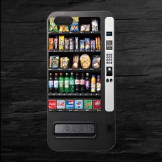 Vending Machine iPhone 4 and 5 Case on Etsy, $11.00