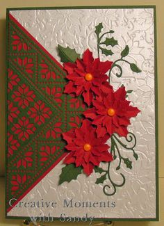Mexican Tile and Poinsettias