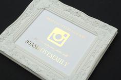 Wedding Instagram  8 x 10 GOLD FOIL  by FlairDesigneryLLC on Etsy, $16.00