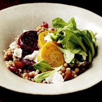 Israeli Couscous and Beet Salad