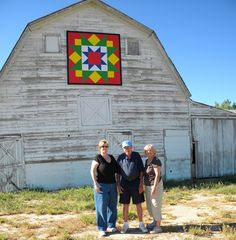 Barn Quilts and the American Quilt Trail: Sagebrush and Sunflowers