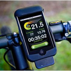 iPhone Bike Mount & Ride Tracking