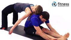 Partner Yoga Workout-Fitness Blender