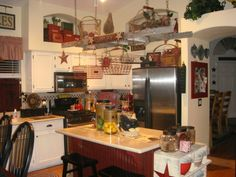 Primitive Kitchens on Pinterest