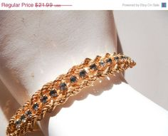 Fall Jewelry Sale Vintage Gold Signed by PaganCellarJewelry, $17.59