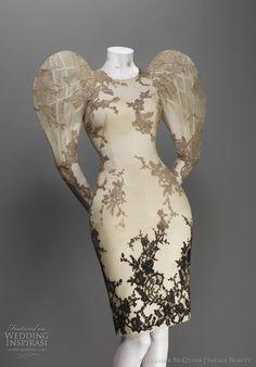 Alexander McQueen bird, wedding dressses, alexander mcqueen, woman fashion, savages, savag beauti, the dress, beauty, alexand mcqueen