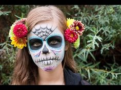 Dia de los Muertos (Day of the Dead) - Altar, Catrina (Sugar Skull) Makeup, and Champurrado