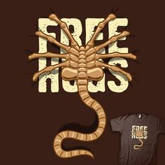 FREE HUGS #Facehugger #Alien