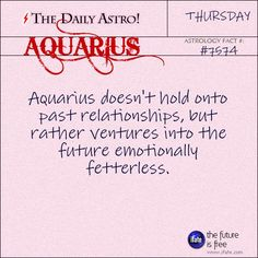 Aquarius Daily Astro!: Ever feel like you're not your sign?  Maybe your birth chart holds some clues.   Visit iFate.com today!