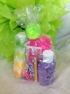 Cute camp ideas for gifts;  Jenkins Kid Farm: Girls Camp Handouts and Gifts -