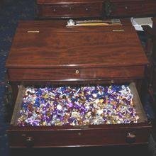 """Senate Chamber """"Candy Desk"""""""