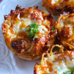 . Spaghetti Pie Muffins Recipe from Grandmothers Kitchen.