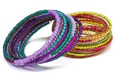 Memory wire tips and projects #Beading #Jewelry #Tutorials