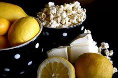 White Chocolate Lemon Popcorn